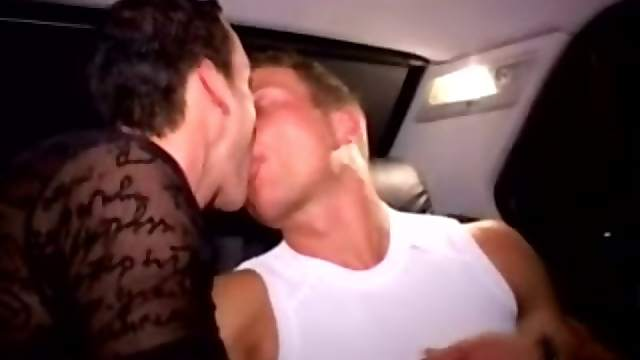 Slutty homo gives a blowjob to his BF and gets his ass smashed