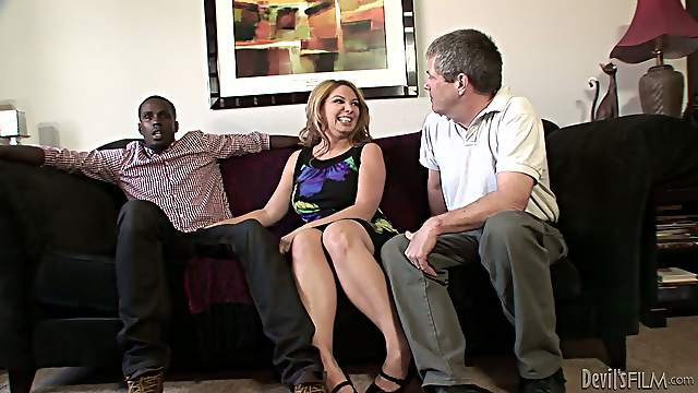 White couple have bisexual sex with Black guy