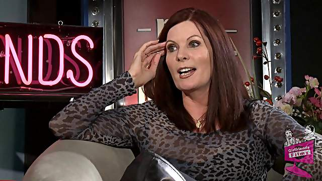 Classy milf Magdalene St Michaels has plenty to say about porn