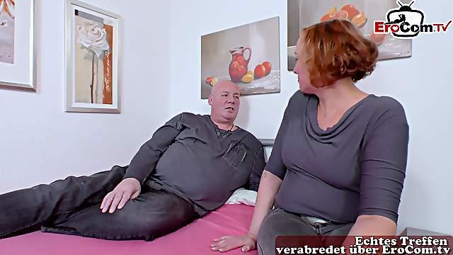 German normal housewife seduced