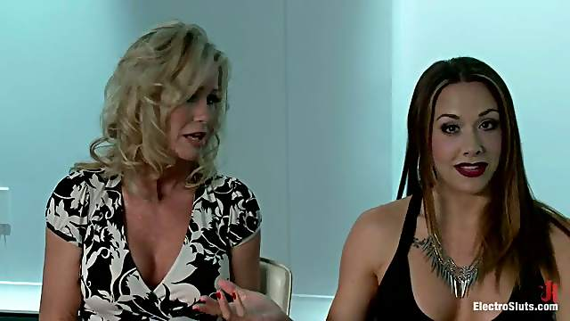 Anal Fisting and Kinky Toying in Lesbian Domination for Simone Sonay