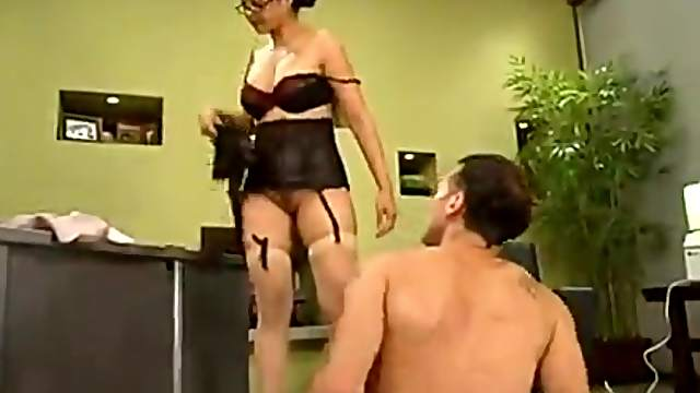 Sebastian gets whipped and enjoys a pump on his dick