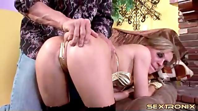 Shiny gloves and boots on filthy fuck whore