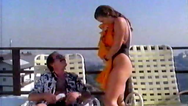Tawny Kitaen Wet in Swimsuit