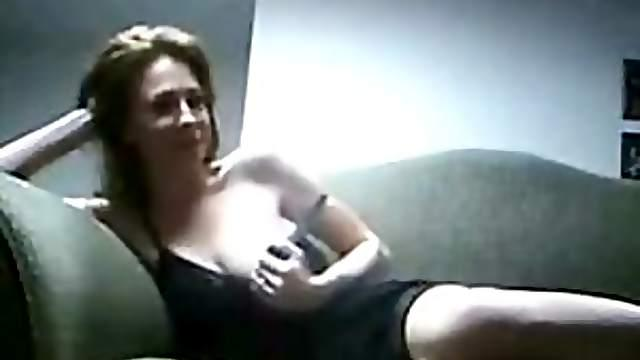 Amateur Blonde MILF Sucks and Fucks a Cock - Stolen Homemade Sex Tape
