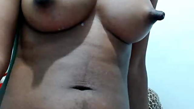 African webcam girl with perky nipples