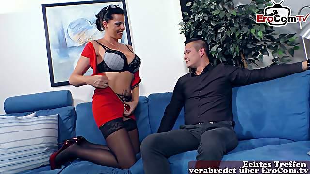 German big boobs brunette milf fuck hardcore
