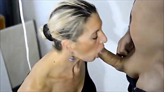 Amateur matures and MILFs blowjob compilation