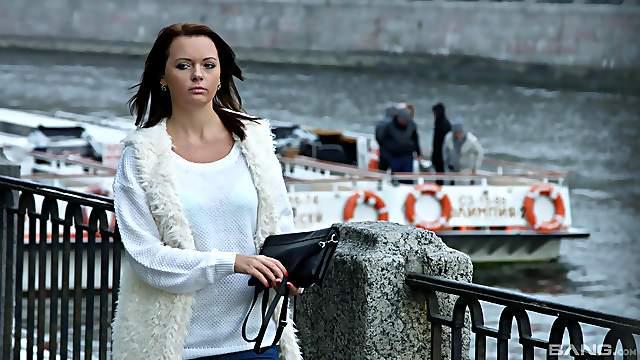 Sensual lovemaking with pretty Russian girlfriend Amili. HD