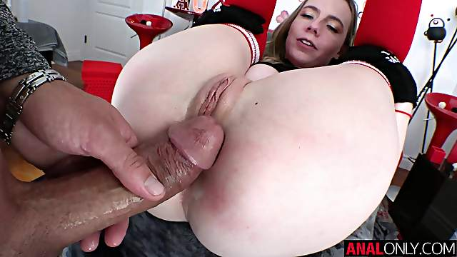 Advanced anal with hot blonde Rebel Rhyder