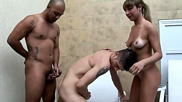 Bisexual Threesome With Patricia, Matheus And Alexsander