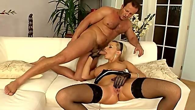 George Uhl fucks with blonde Natallie DAngelo