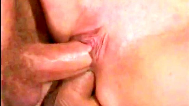 Double Vaginal in MMF Outdoors Threesome with Randy Blonde