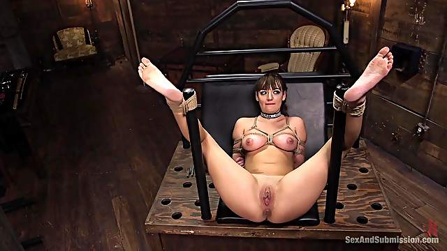 First time caged and brutally fucked without mercy