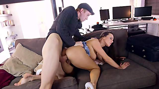 Mea Melone first time anal sex with such a big cock