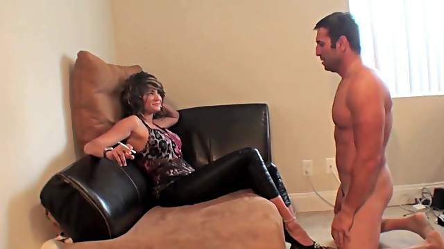 Dirty domination with a smoking milf