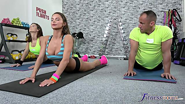 Post-workout screwing for tight and trim tart Jenifer Jane